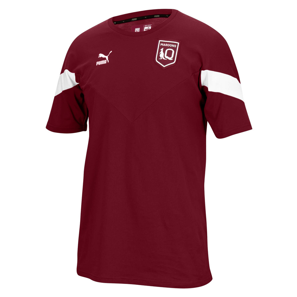 Image PUMA Queensland Maroons Youth Iconic Tee #1