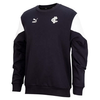 Image PUMA Carlton Football Club Mens Iconic Crew