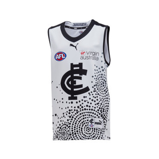 Image PUMA Carlton Football Club 2020 Dreamtime Youth Guernsey