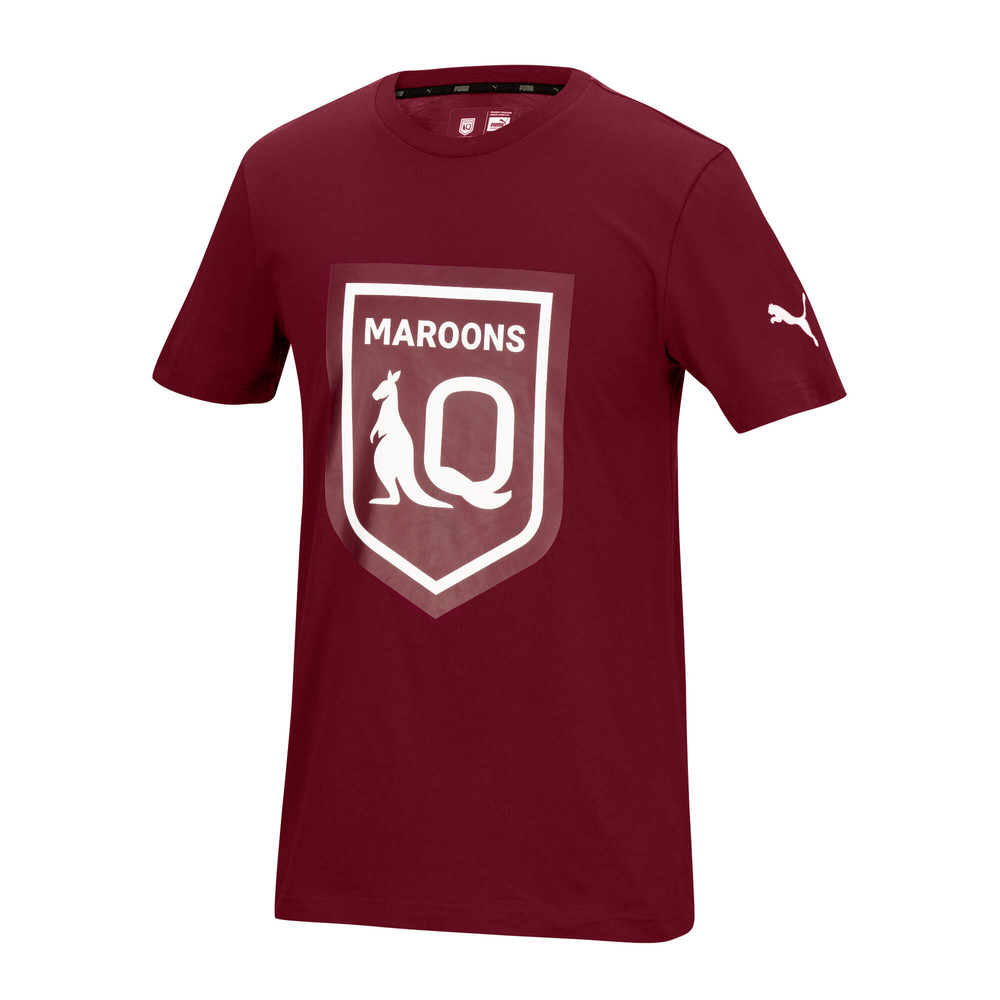 Image PUMA Queensland Maroons Mens Logo Tee #1