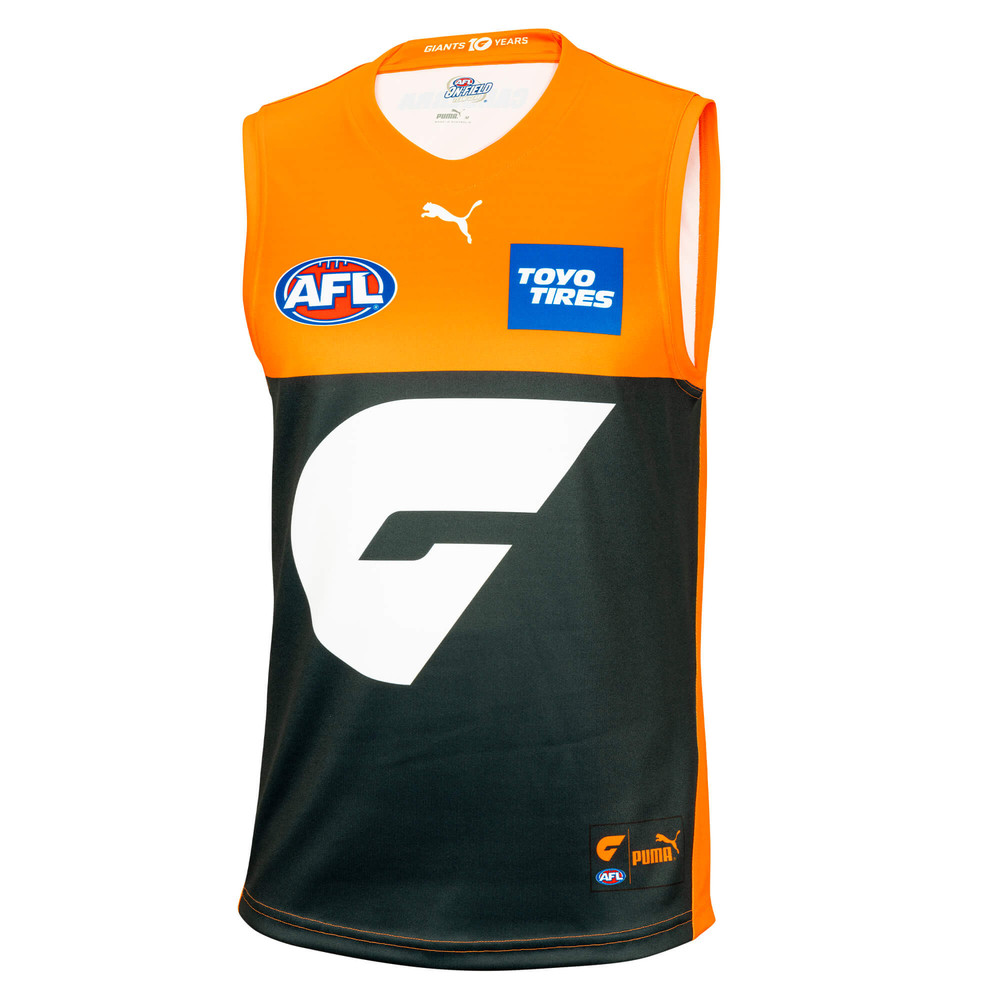 Image PUMA GWS Giants Mens Replica Home Guernsey #1