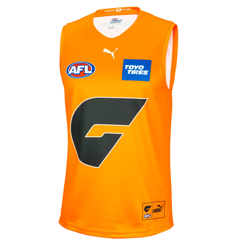 Image PUMA GWS Giants Youth Replica Away Guernsey #1