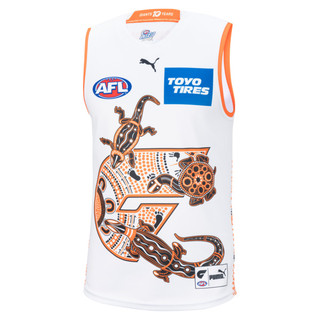 Image PUMA GWS Giants Youth Replica Indigenous Guernsey