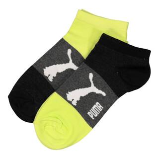 Image Puma Mens 2 Pack Bold Sneaker Socks
