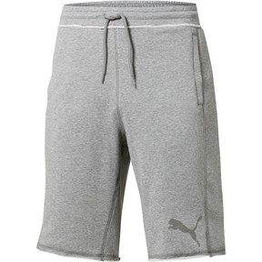 Thumbnail 2 of Archive Logo Men's Bermuda, medium gray heather, medium