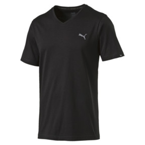 Thumbnail 1 of Men's V-Neck T-Shirt, Puma Black, medium