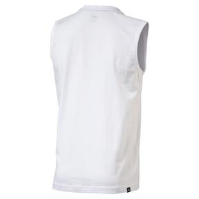 Thumbnail 2 of Men's No.1 Logo Sleeveless Shirt, Puma White, medium