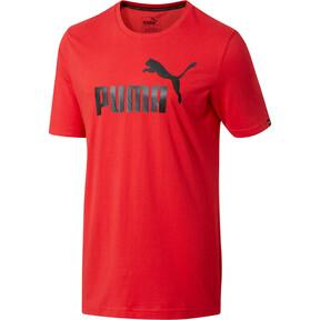 Thumbnail 1 of No.1 Logo Men's T-Shirt, Ribbon Red, medium