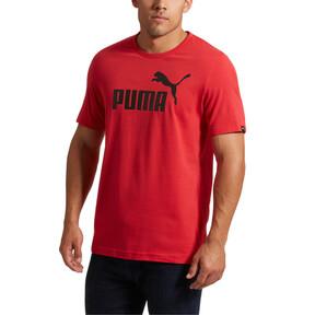 Thumbnail 2 of No.1 Logo Men's T-Shirt, Ribbon Red, medium