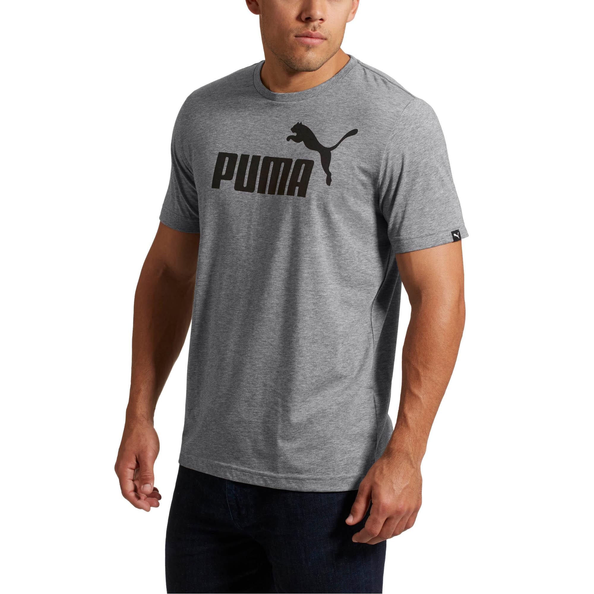 ca1a8c2e4 PUMA No. 1 Heather T-Shirt Men Tee Basics | eBay