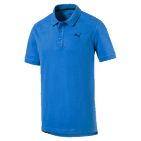 Thumbnail 1 of Men's Piqué Polo, BRILLIANT BLUE, medium