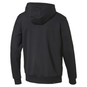 Thumbnail 4 of Style Men's Full Zip Fleece Hoodie, Cotton Black, medium