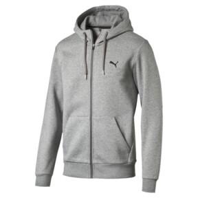 Thumbnail 1 of Style Men's Full Zip Fleece Hoodie, Medium Gray Heather, medium