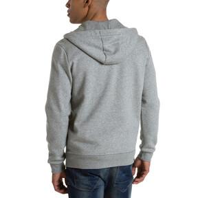 Thumbnail 3 of Style Men's Full Zip Fleece Hoodie, Medium Gray Heather, medium
