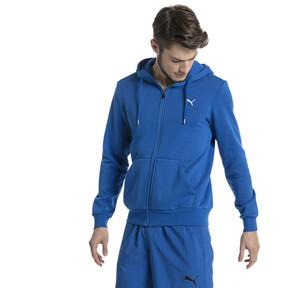 Thumbnail 2 of Style Men's Full Zip Fleece Hoodie, Turkish Sea, medium