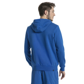 Thumbnail 3 of Style Men's Full Zip Fleece Hoodie, Turkish Sea, medium