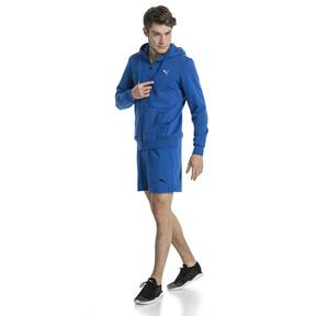 Thumbnail 5 of Style Men's Full Zip Fleece Hoodie, Turkish Sea, medium