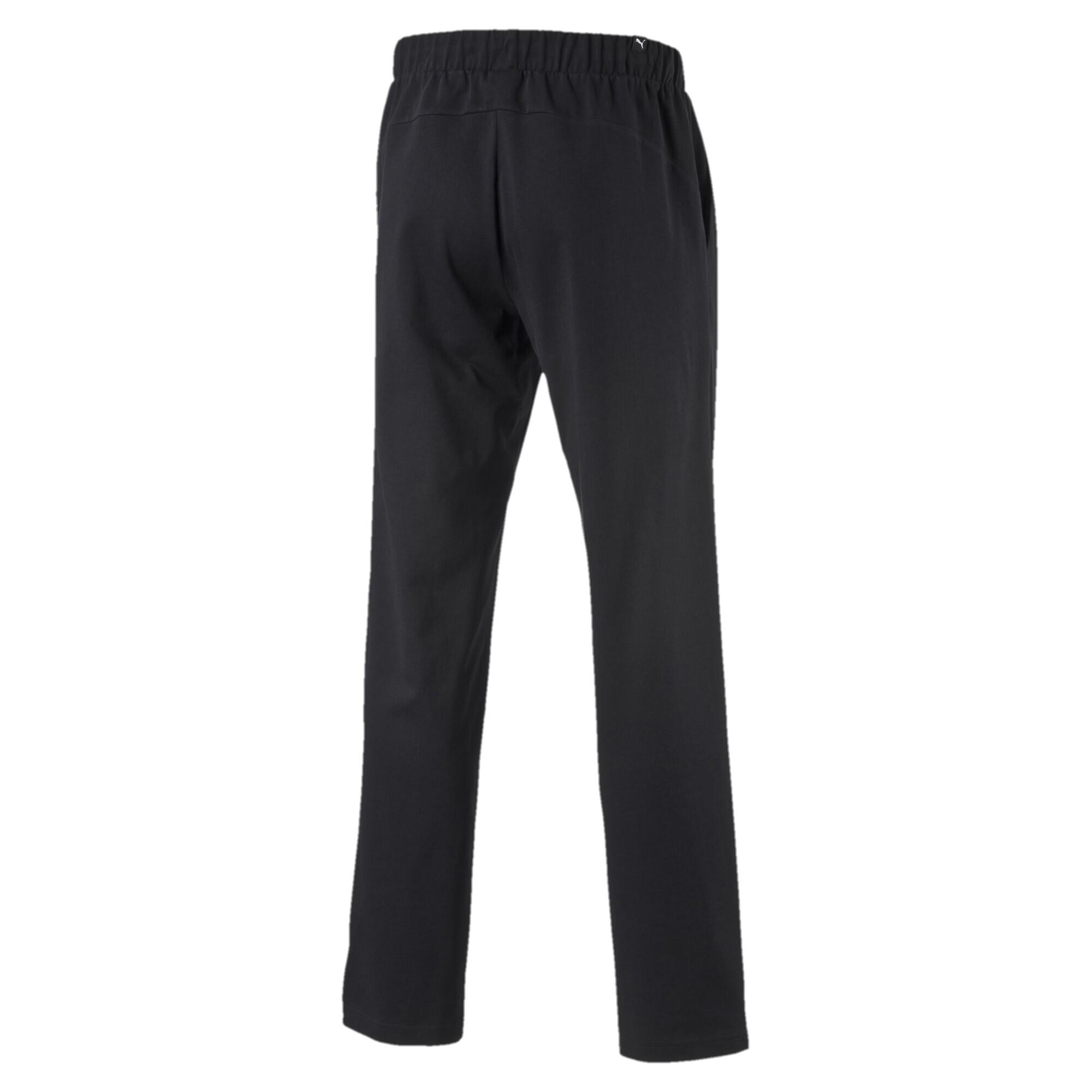 Image Puma Men's Essential Jersey Pants #2