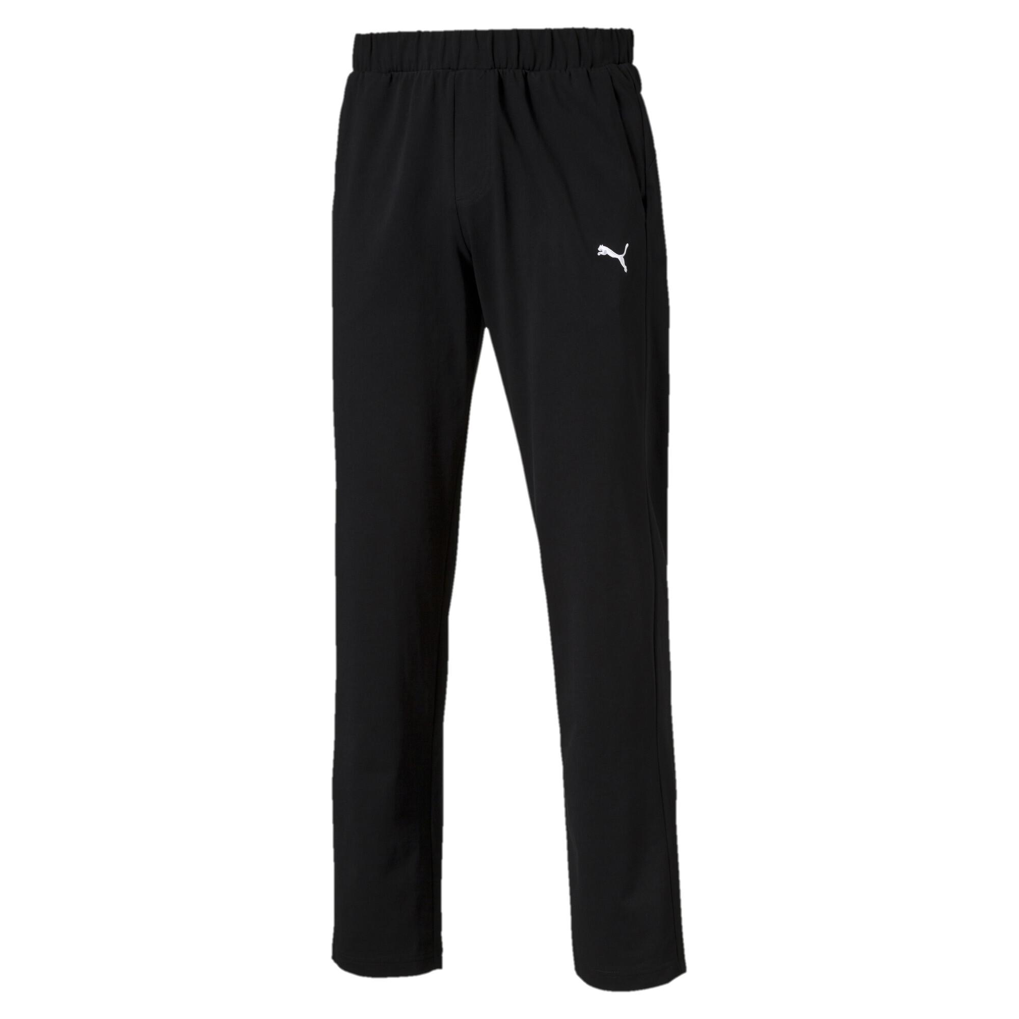 Image Puma Men's Essential Jersey Pants #1