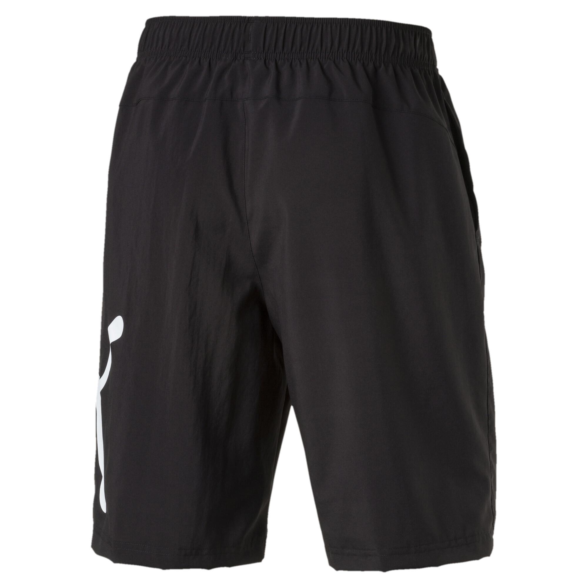 Image Puma Active Men's Big Cat Woven Shorts #2
