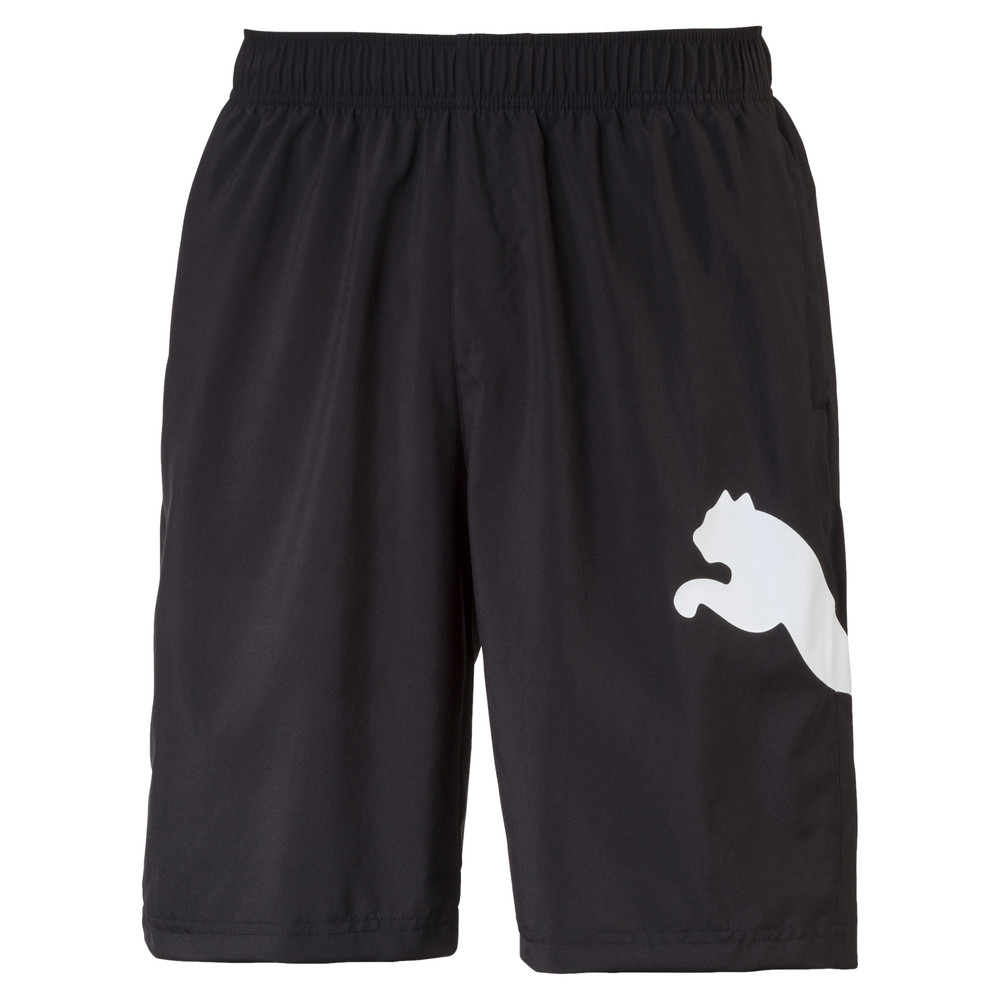 Image PUMA Active Men's Big Cat Woven Shorts #1