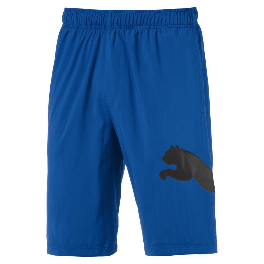Image PUMA Active Men's Big Cat Woven Shorts #1