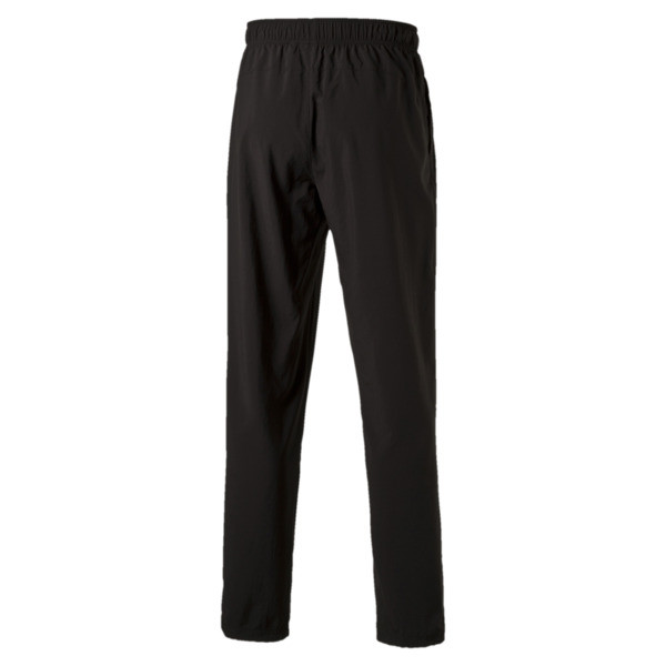 Active Men's Woven Pants, Puma Black, large