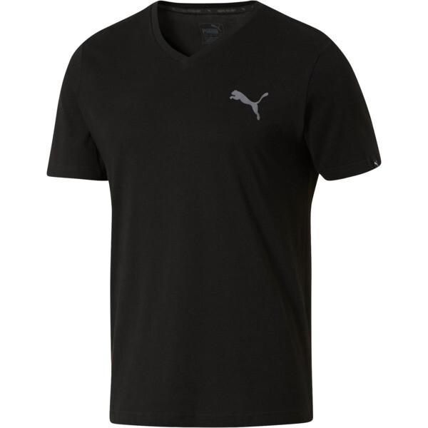f9b004cff24 Iconic V-Neck T-Shirt | Puma Black | PUMA Shoes | PUMA United States