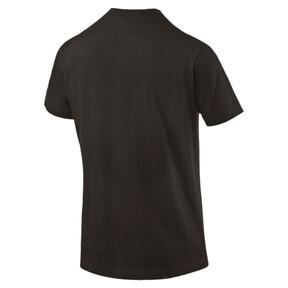Thumbnail 4 of Iconic V-Neck T-Shirt, Puma Black, medium