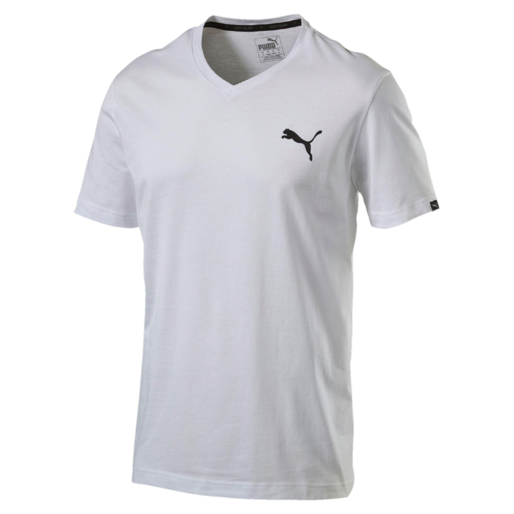 PUMA-Iconic-V-Neck-T-Shirt-Men-Tee-Basics thumbnail 18