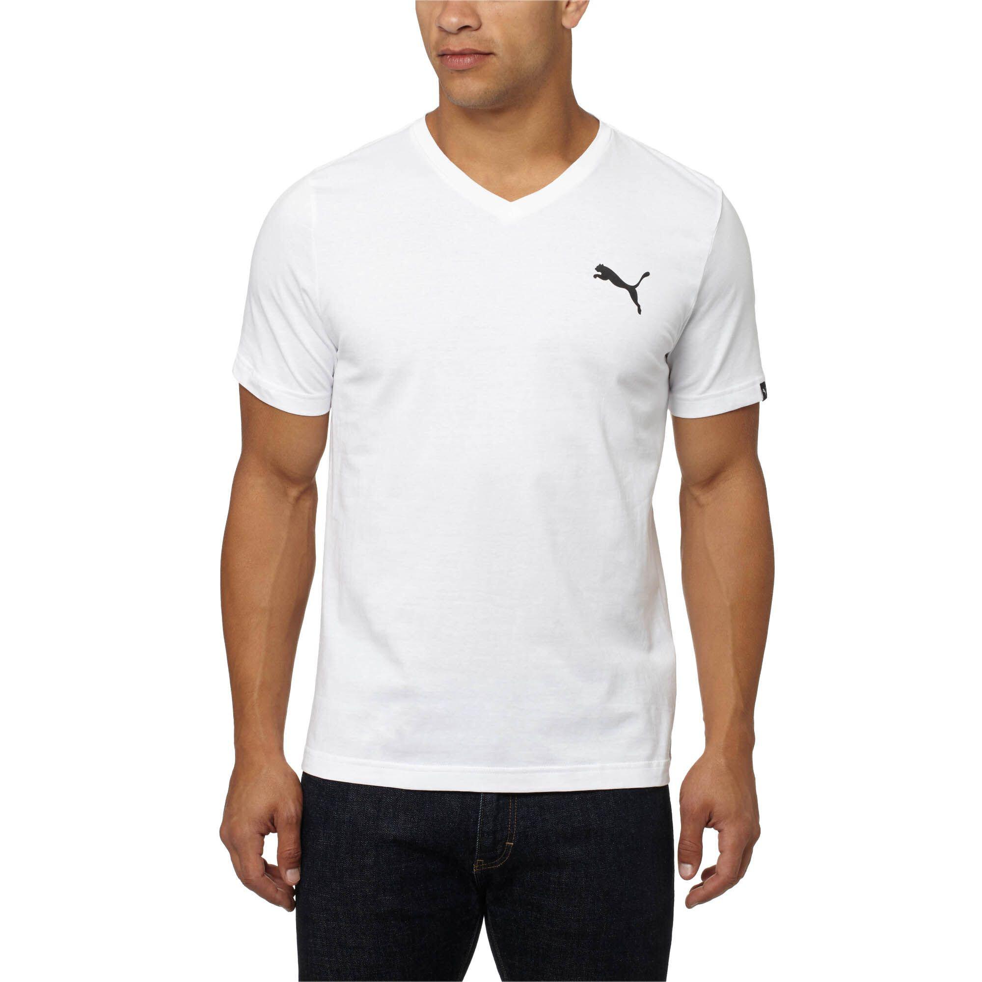 PUMA-Men-039-s-Iconic-V-Neck-T-Shirt thumbnail 8
