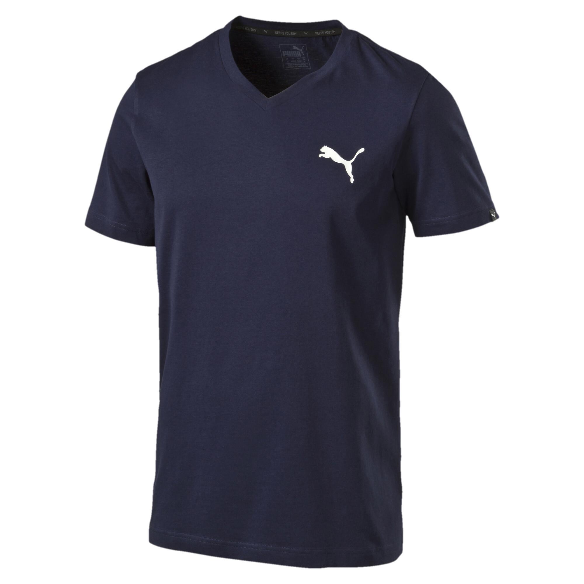 PUMA-Iconic-V-Neck-T-Shirt-Men-Tee-Basics thumbnail 11