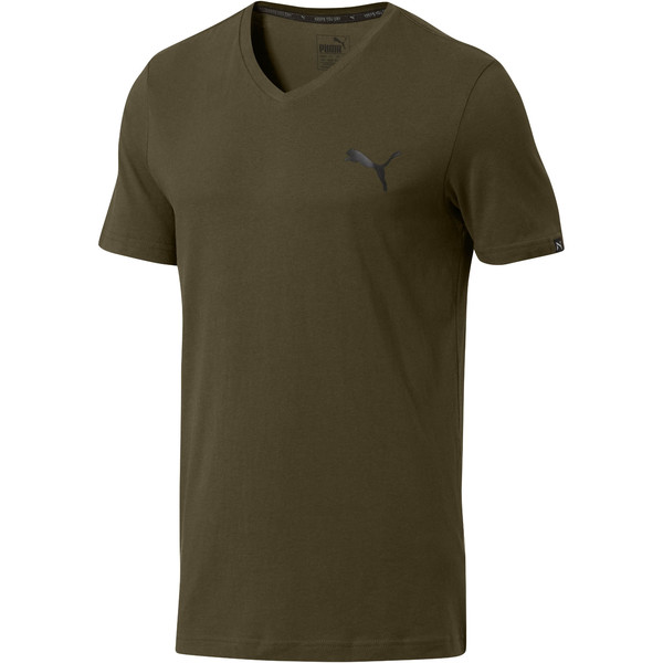 Iconic V-Neck T-Shirt, Forest Night, large