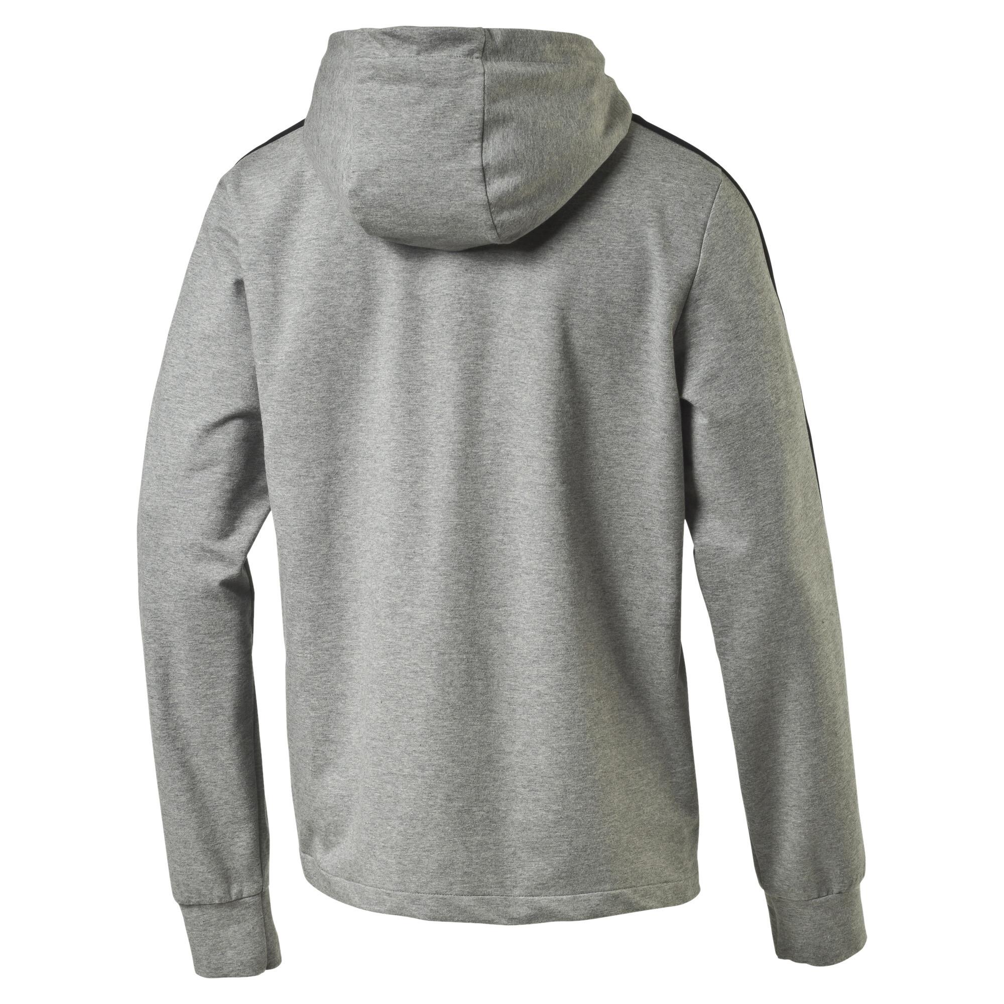 PUMA-StretchLite-Zip-Up-Hoodie-Men-Sweat-Basics thumbnail 3