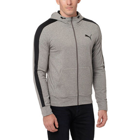 Thumbnail 2 of StretchLite Zip-Up Hoodie, Medium Gray Heather, medium