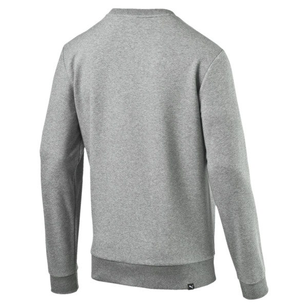 Herren Crew Sweatshirt, Medium Gray Heather, large