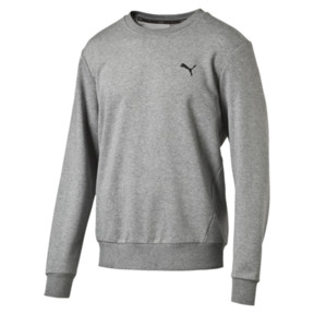 Thumbnail 1 of Herren Crew Sweatshirt, Medium Gray Heather, medium