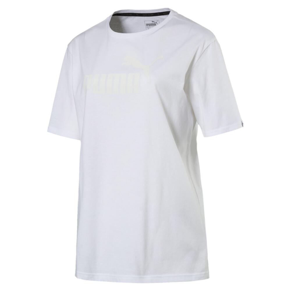 Görüntü Puma STYLE No.1 Logo Kadın BOYFRIEND T-Shirt #1