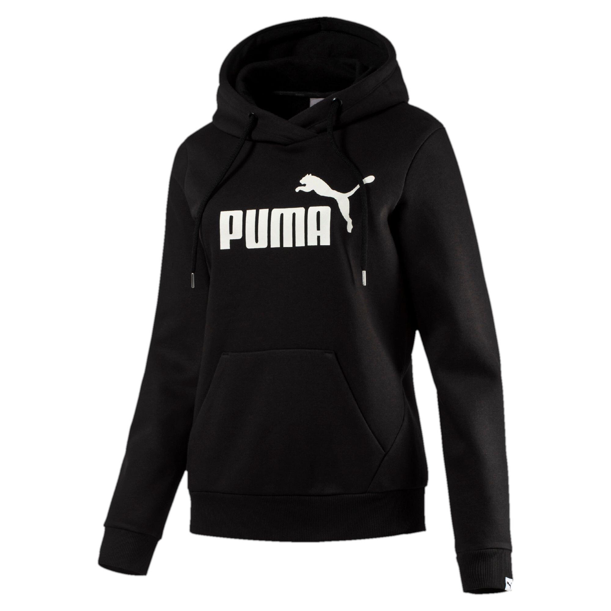 Image Puma Women's Style No.1 Logo Fleece Hoodie #1