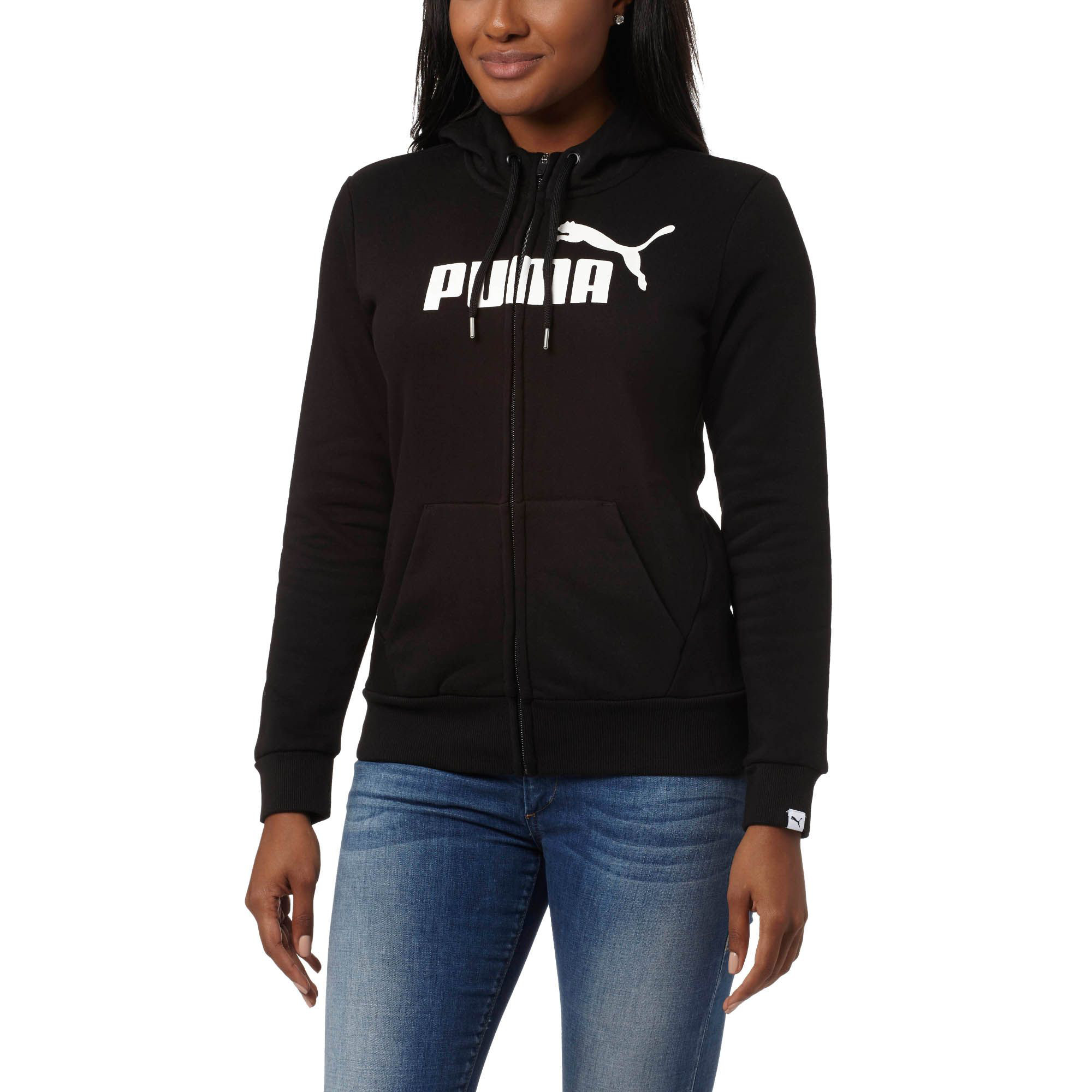 Image Puma Women's Essential No. 1 Zip-Up Hoodie #2