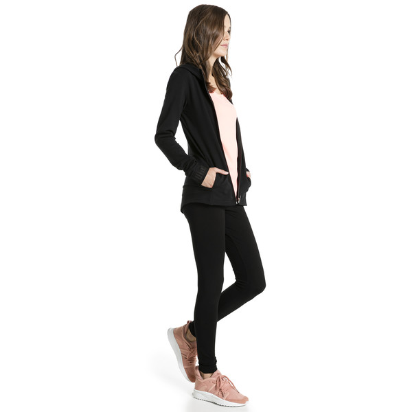 Style No.1 Logo Women's Leggings, Puma Black-copper, large