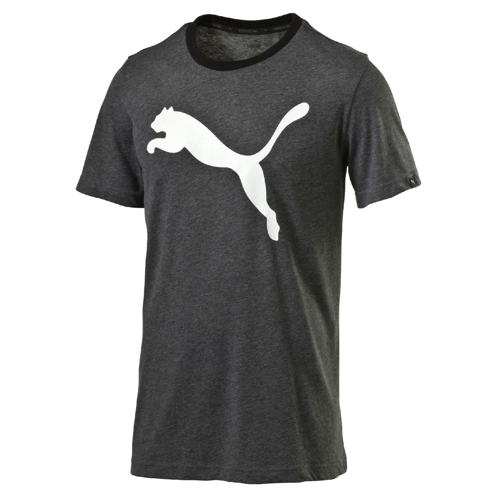 Image Puma Men's Big Cat Heather T-Shirt #1