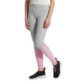 Thumbnail 2 of Out of this World Women's Leggings, LightGrayHeather-LilacSachet, medium