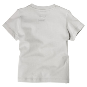 Thumbnail 2 of Girl's Easter Tee INF, Glacier Gray, medium