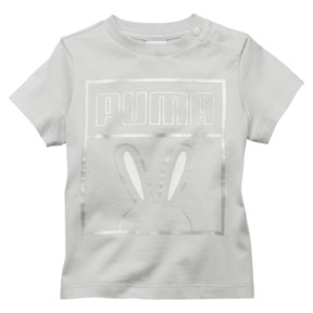 Thumbnail 1 of Girl's Easter Tee INF, Glacier Gray, medium