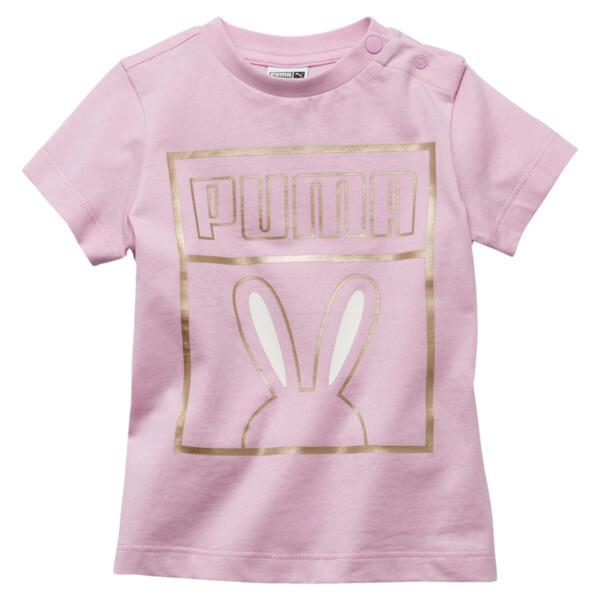 Girls' Easter Toddler Tee, Pale Pink, large