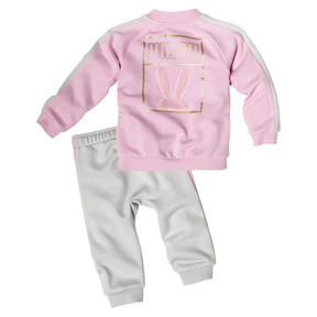 Thumbnail 2 of Girl's Easter Two-Piece Set INF, Pale Pink, medium