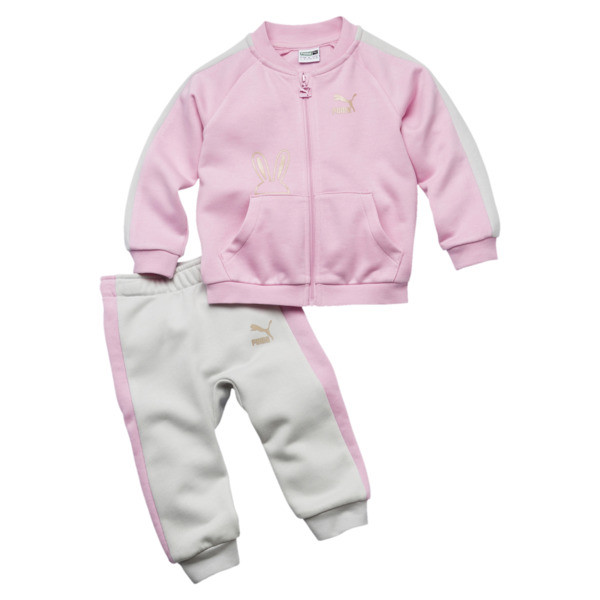 Girl's Easter Two-Piece Set INF, Pale Pink, large