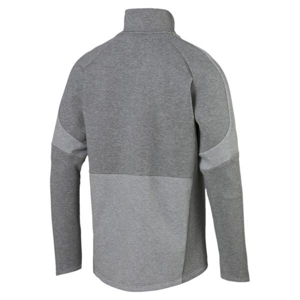 Evostripe Move Jacket, Medium Gray Heather, large