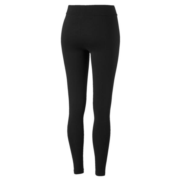 Leggings Essential estampados para mujer, Puma Black, grande